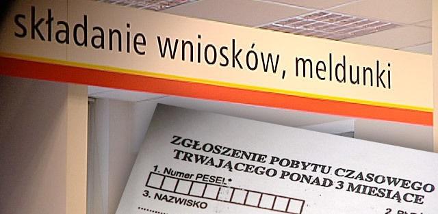 Do zameldowania najemcy na pobyt stały potrzebne są wypełniony formularz i umowa najmu.